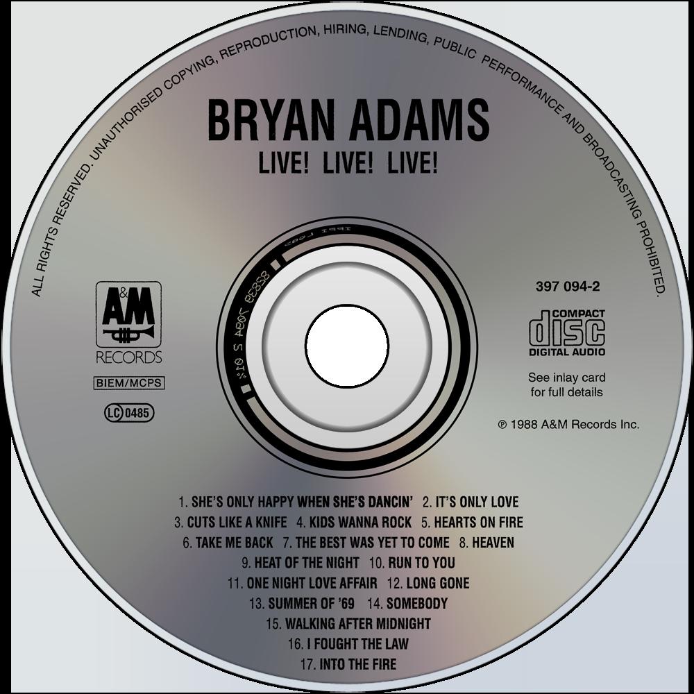 Bryan adams music fanart - Bryan adams room service live in lisbon ...