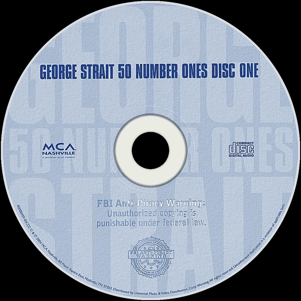 george strait 50 number ones - photo #2