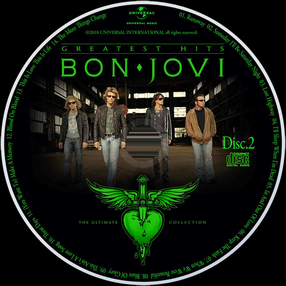 Bon Jovi Ultimate Collection: Music Fanart