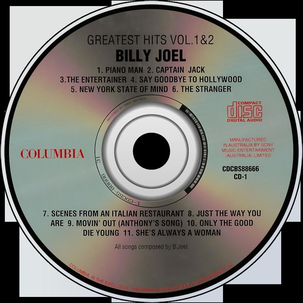 Greatest Hits Vols 1 2 Billy Joel: Music Fanart