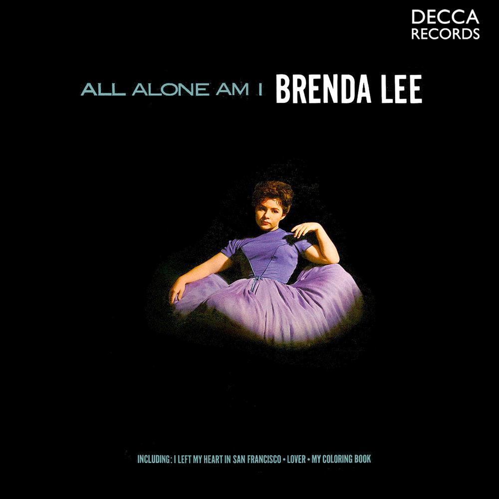 I Am Alone Cover Photos Brenda Lee All Alone A...