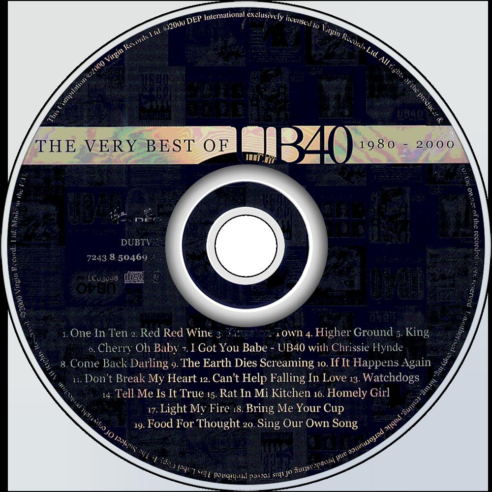 UB40 The Very Best Of Full Album Zip
