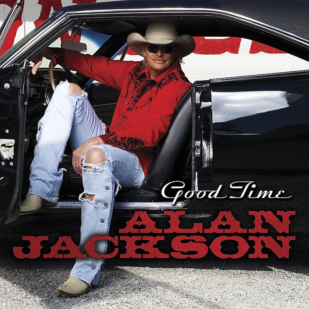 Alan Jackson Good Time Album Cover Car