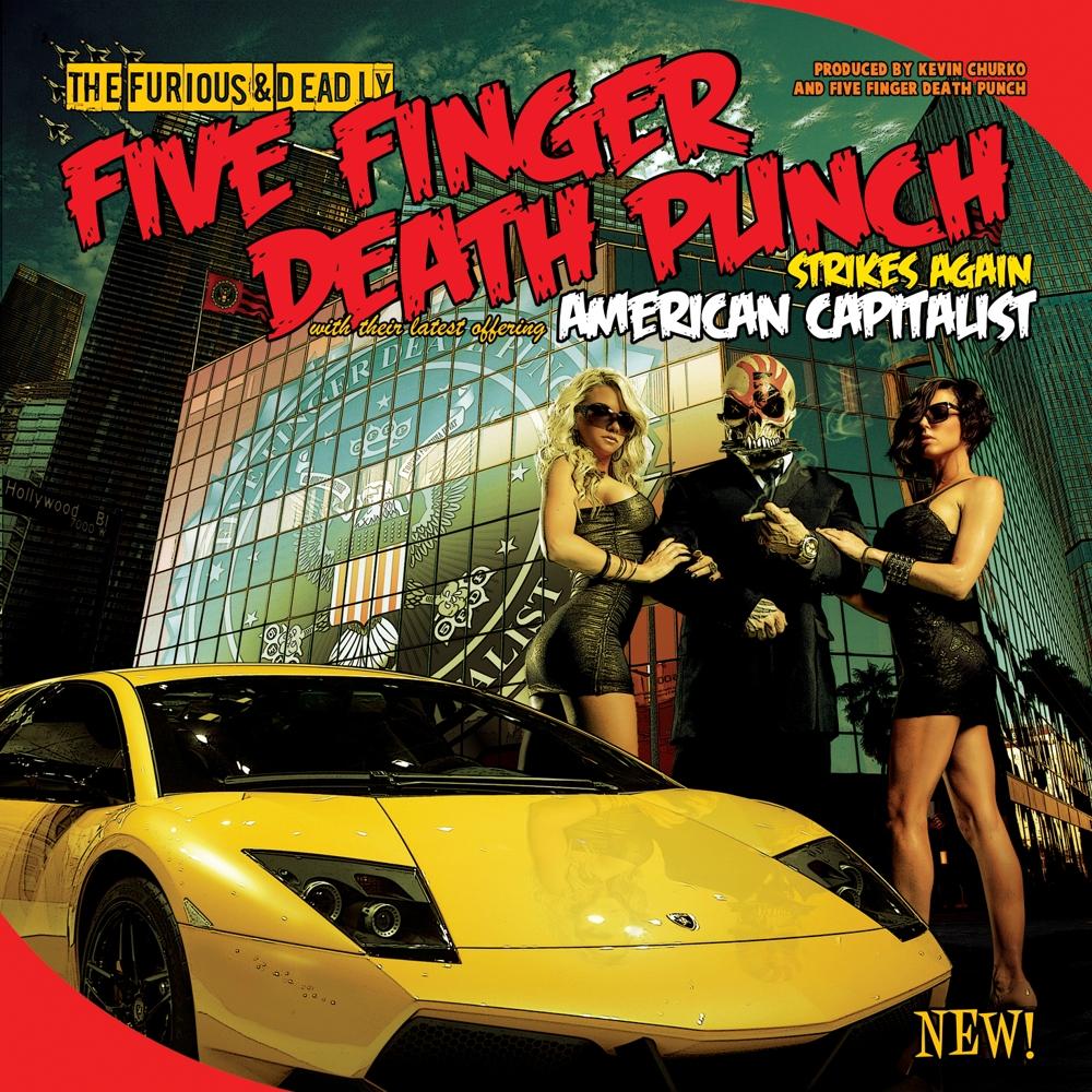 Five Finger Death Punch American Capitalist Wallpaper | Pics