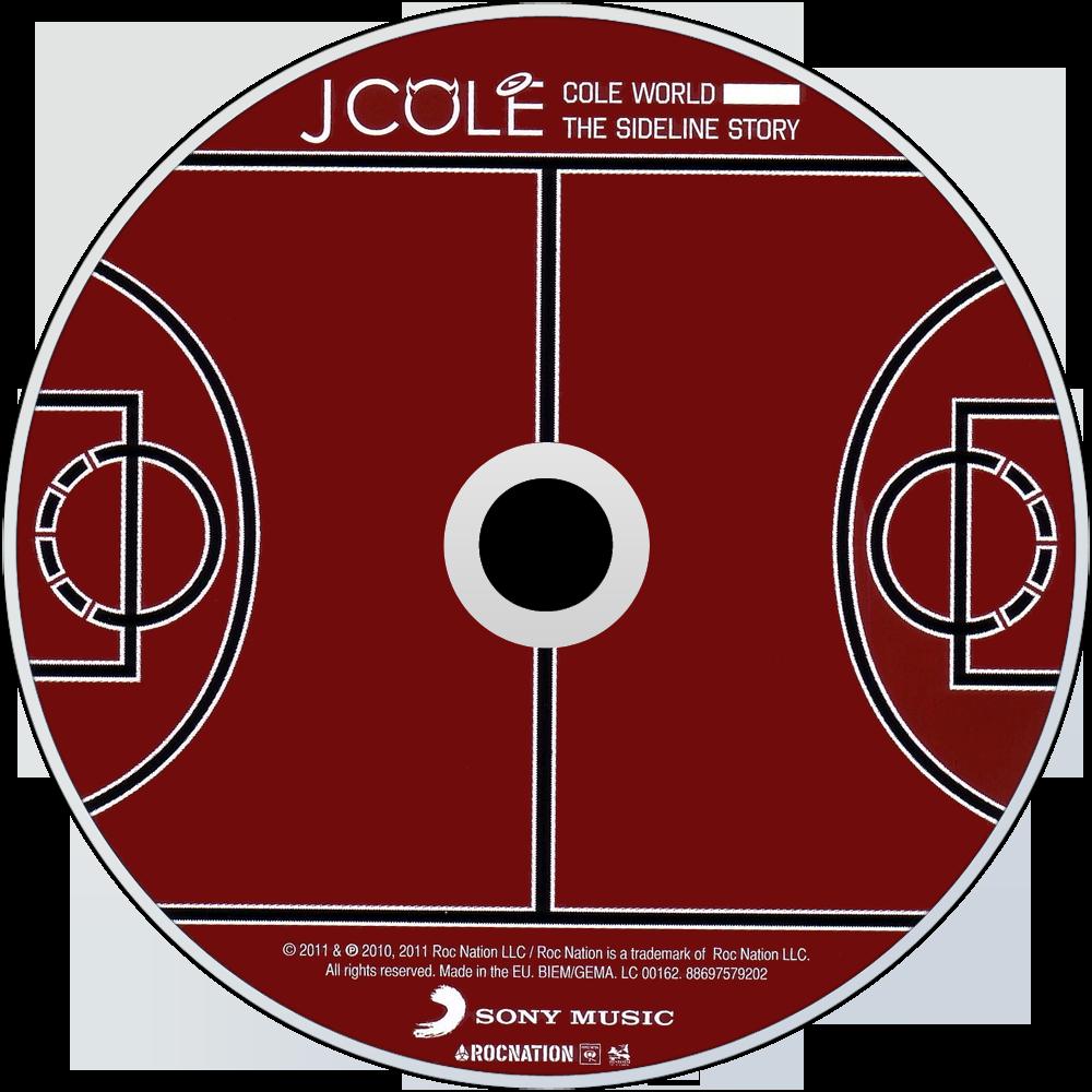 J cole music fanart fanart j cole cole world the sideline story cd disc image aloadofball Choice Image