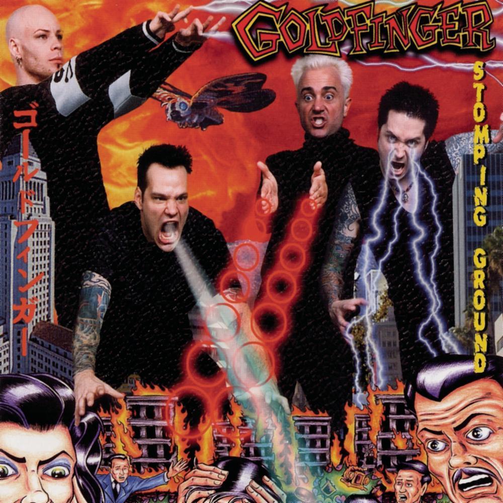 goldfinger stomping ground album cover