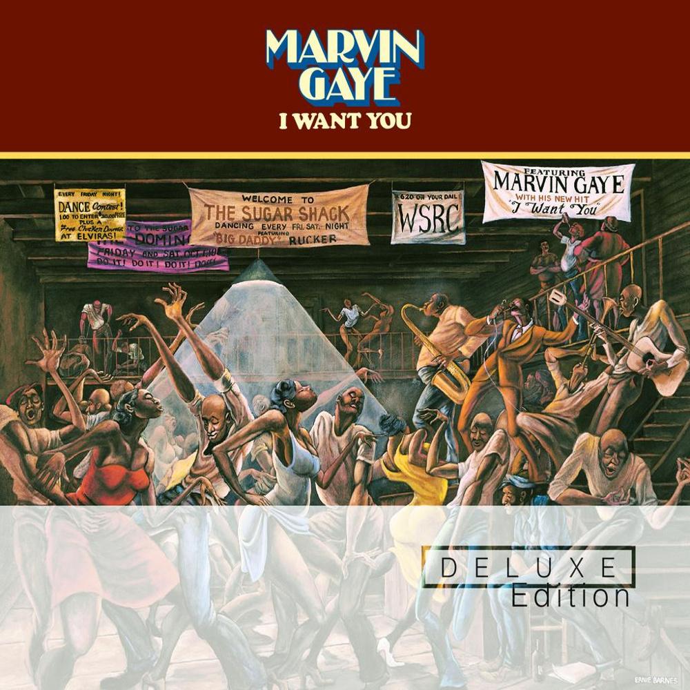 Marvin Gaye Album Cover