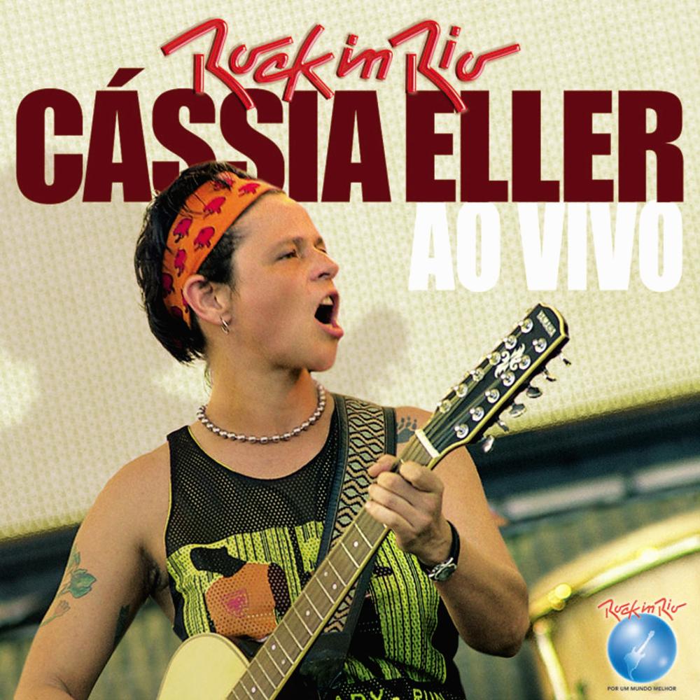 Resultado de imagem para Rock in Rio (Ao Vivo) Cássia Eller 1000X1000