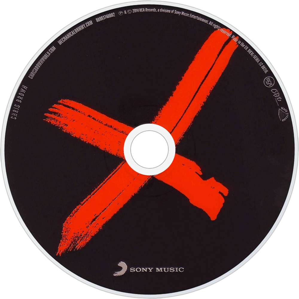 Chris Brown | Music fanart | fanart.tv X Album Cover Chris Brown