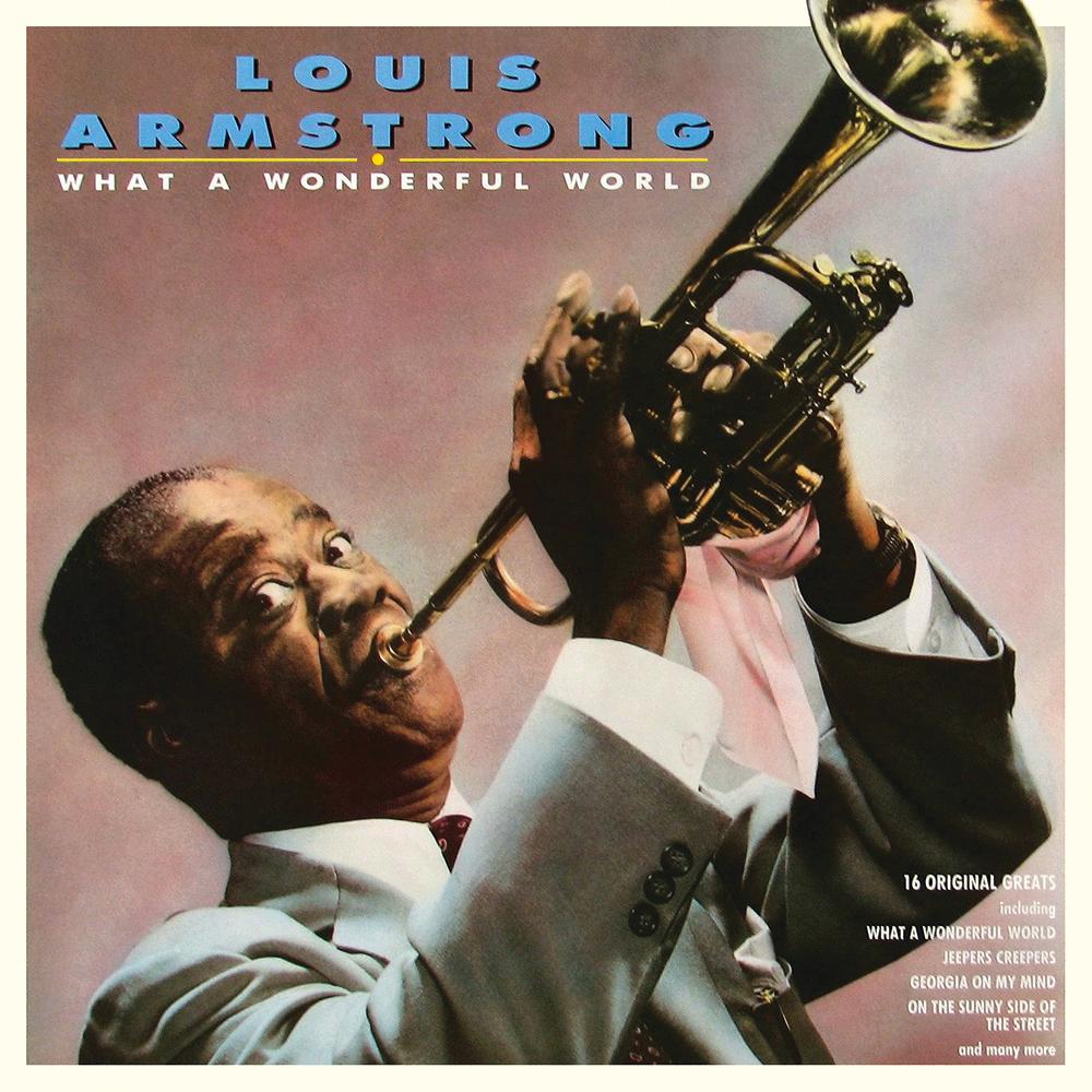 What a Wonderful World - Louis Armstrong - MP3 instrumental karaoke