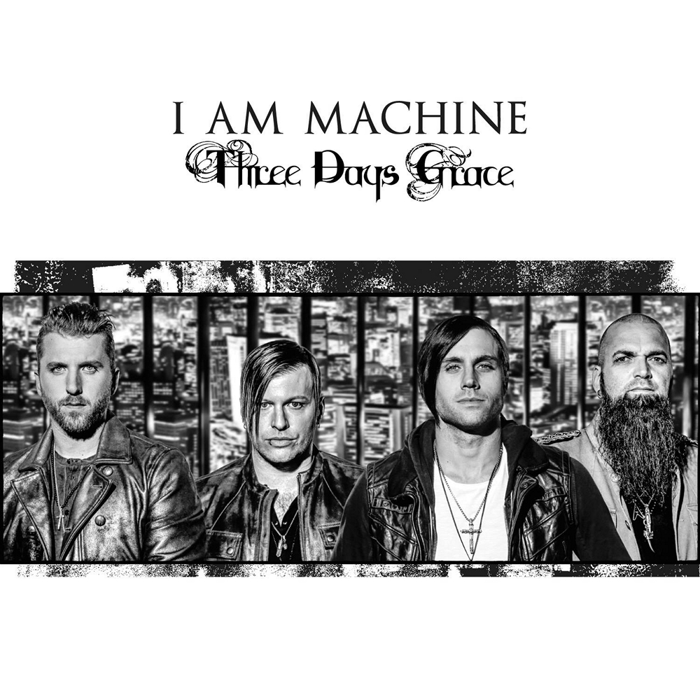 three days grace i am machine lyrics