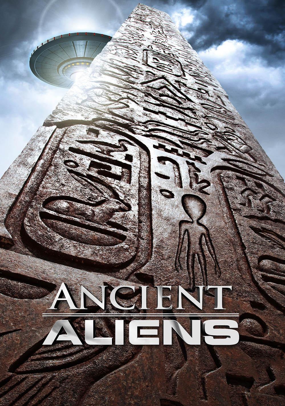 Ancient Aliens (2009) | TV fanart | fanart.tv  Ancient Aliens ...