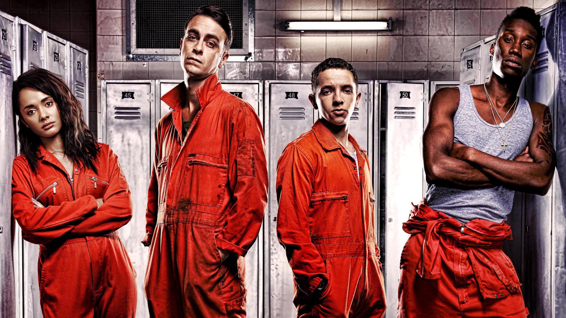 Misfits Tv Series 4.