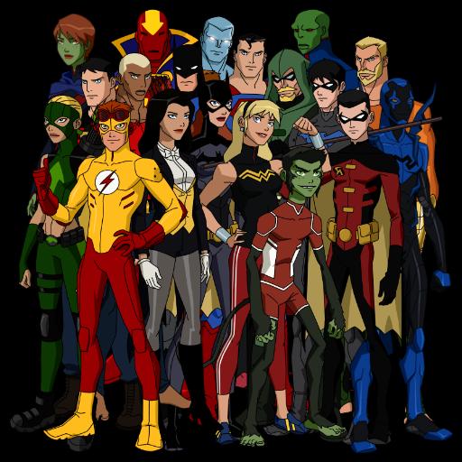 Young Justice  Tv Fanart  Fanarttv-2077