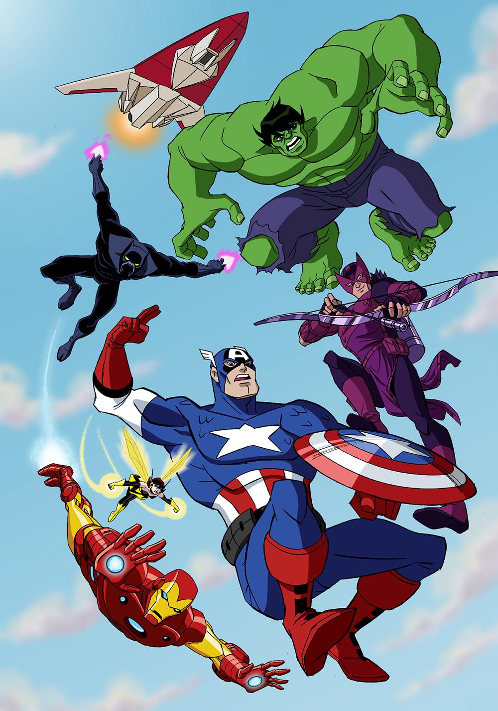 The Avengers: Earth's Mightiest Heroes  TV fanart  fanart.tv