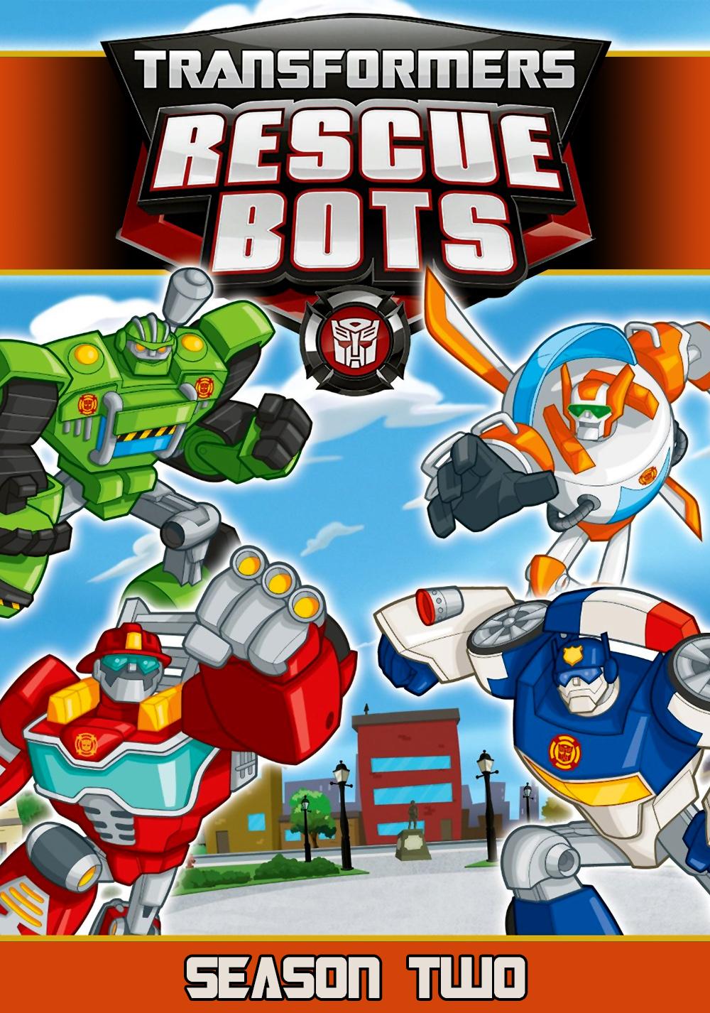 Transformers: Rescue Bots Tv Season Poster Image