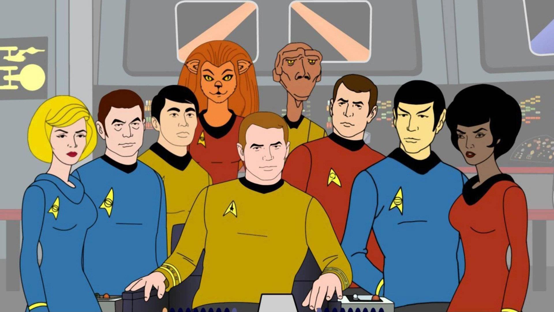 Star Trek: The Animated Series Wallpaper From The TV MegaSite