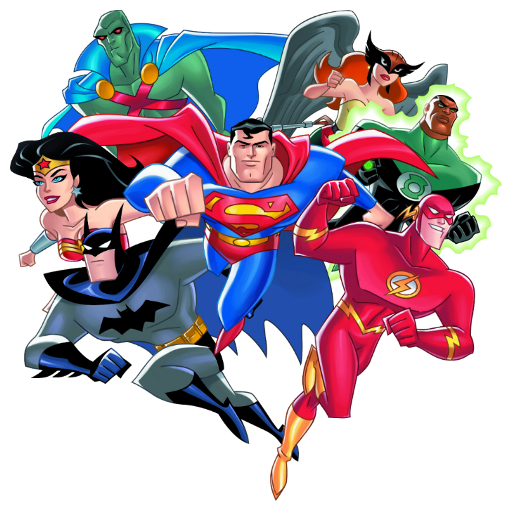 Cartoon Characters Justice League : Justice league tv fanart