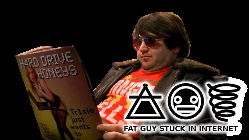 Fat Guy Stuck Internet 3